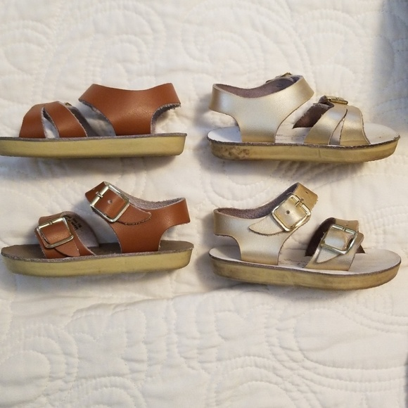 857b643f17383 Salt Water Sandals by Hoy Shoes | 2 Pair Sea Wees Size 2 | Poshmark